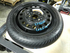"2011 2012 2013 2014 2015 NISSAN LEAF SPARE TIRE WHEEL DONUT 16"" SPARE"