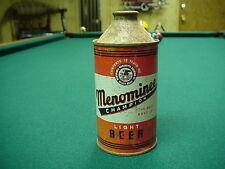 Menominee Beer Cone Top Beer Can