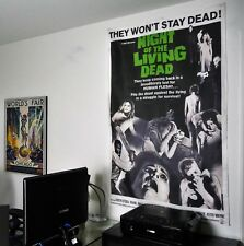 Night Of The Living Dead poster classic vintage horror zombie movie romero