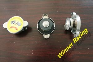 1.1BAR 16PSI 16LBS CHROME RADIATOR CAP FOR Honda/Nissan/Toyota Made in USA/CANDA