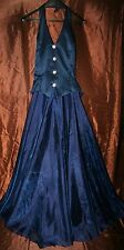 r- WEDDING BRIDESMAID GOWN SZ 12 GORGEOUS FORMAL WEAR PROM PAGEANT GENTLY USED