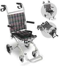 Light Weight Aluminum Transport Pediatric Wheelchair Wheel Chair Child & Junior