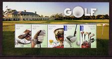 Australia 2011 Oferta Especial Golf Miniatura Hoja Cto