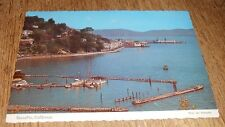 Vintage Postcard Sausalito Marin County Bridgeway Main Street