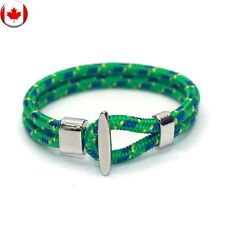 Double Layer Rope Anchor Wristband Wrap Vintage Bracelet l Fast Ship From Canada