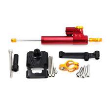 Motorcycle CNC Steering Damper Stabilizer For KAWASAKI NINJA250R NINJA300 08-18
