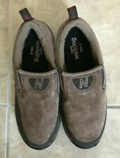 New Balance Country Walking Slip-on Brown Suede Sneakers Shoes 756 v2 Men's 7.5