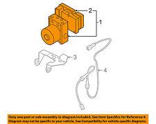 MAZDA OEM 04-09 3 ABS Anti-lock Brakes-Modulator Valve BVSN437AZD