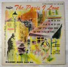 THE PARIS I LOVE 45rpm
