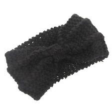 Fashion Women Crochet Headband Knit Bowknot Hairband Ear Warmer Winter Headwrap