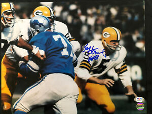 Paul Hornung Green Bay Packers HOF 1986 Signed Auto 11x14 Photo ~ PSA/DNA COA