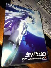 ANGEL BEATS 2 DVD NTSC Region 3 VGC