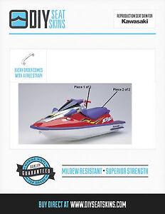 KAWASAKI SS ZXI 900 XI 1100 PURPLE Seat Cover Skin 95 96 97 98 99 00 01 02 03+ *