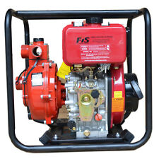 Diesel Fire Pump 6 Hp. Excellent Quality. Twin  Impeller. Brand New