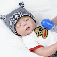 22'' Full Body Soft Vinyl Silicone Baby Boy Real Life Reborn Baby Doll kids Gift