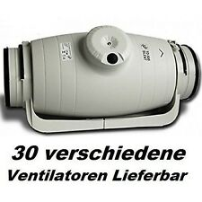 TD-350/125 SILENT Rohrlüfter Kanalventilator  Rohrventilator ventilator/Lüfter