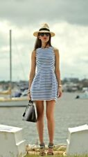 Zara Striped Plus Size Sleeveless Dresses for Women