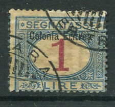 Eritrea 1903 Sass. 8 Used 80% postage due 1 l., Italian colony