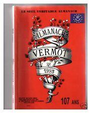 ALMANACH VERMOT 1993 BE CADEAU ANNIVERSAIRE