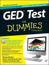 GED Test For Dummies: with Online Practice, Shuttleworth, Dale E., Krull, Achim