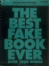The Best Fake Book Ever 2nd Edition B-flat Edition Real Book Fake Book 000240083