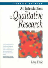 An Introduction to Qualitative Research by Uwe Flick (Paperback, 2002)