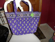 Vera Bradley Miller bag in retired Simply Violet pattern NWT