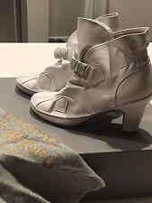 Vivian Westwood White Booties