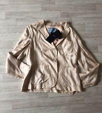 PRADA JACKET PRADA Blazer COAT 100% Silk Defects IT46 UK16 £990 NEW Twill Donna