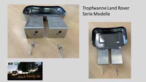 Land Rover Series - Öltrofwanne - Ölauffangwanne - Tropfschutz Getriebeglocke