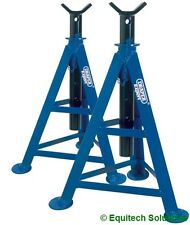Draper Tools 54722 AS6000 Pair Expert Axle Stands 6 Ton Each 870mm High New