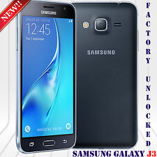 "Samsung Galaxy J3 (2016) SM-J320HDS Android 5.1 8MP 5"" 8GB Unlocked Phone Black"