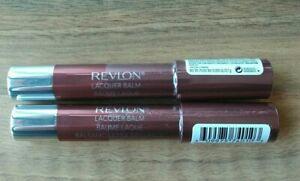 2 x NEW & SEALED REVLON LIP BALM STAIN IN 140 COY