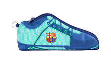 FC Barcelona 2020 2nd Kit Shoe Shaped Pencil Case Stationery Pouch OFFICIAL