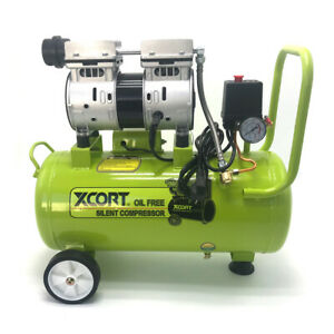 30L Direct Drive Oil Free Silent Air Compressor Garage Workshop