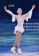 Custom girls ice skating clothes for competition Adult figure skating dresses