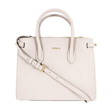 Furla Pin Ladies Small White Perla Leather Tote 977680