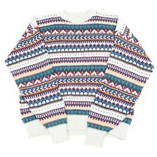 Vintage Cosby Jumper   Sweater Knit 90s Hip Hop Australian Patterned Pullover