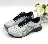 ASICS Running Shoes GEL-KAYANO 25 EXTRA WIDE 1011A023 Gray Black Sz 12 Sneakers