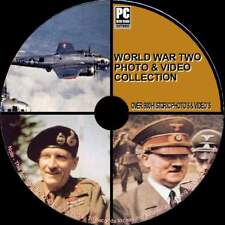 2nd WORLD WAR 900+ 1939/45 VINTAGE PHOTO IMAGES & VIDEO ON PC-DVD WW2 MAPS PLANS