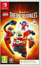 New listing LEGO The Incredibles NINTENDO SWITCH New and Sealed Code in Box