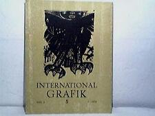 INTERNATIONAL GRAFIK 5VOL 2 1970 Print Graphic Art Book