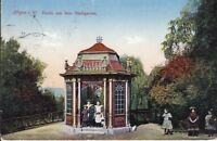 uralte AK, Hagen in Westfalen Partie aus dem Stadtgarten 1913