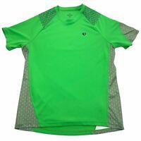 Pearl Izumi Men's Medium Herren Ultra Short Sleeve Green Textured Bike Jersey