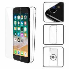 Etui Handy Tasche Case + Display Panzerglas + Kamera Glas für Samsung Galaxy S8