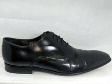 PAUL SMITH Starling Black Leather oxfords Men US 9.5 Well Maintained Portugal