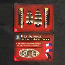 "Pirates of the Crimson Coast CSG - #077 ""LA PROVENCE"" French Ship NEW Unpunched!"