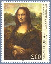 Timbre France Y&T 3235 Neuf** - La Joconde - Léonard de Vinci - 1999