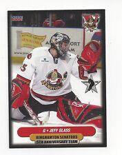 2006-07 Binghamton Senators 5th Anniversary Jeff Glass (Rockford IceHogs)