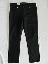 Nudie Jeans Slim Jim 100% Organic Cotton Dry Black NJ3777-Size 34 L34